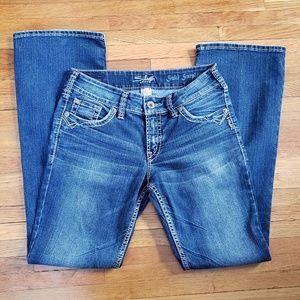 "Silver Jeans Jeans - 32"" Inseam - Silver Suki Surplus Jeans"
